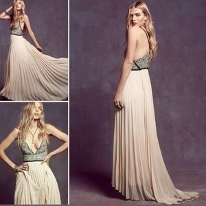 Free People ball prom gown dress size 8